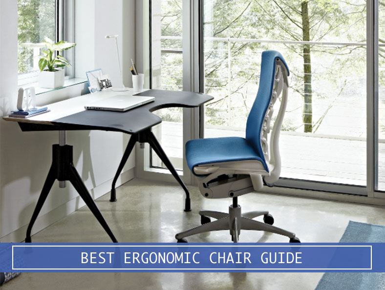 ergonomic chair with table