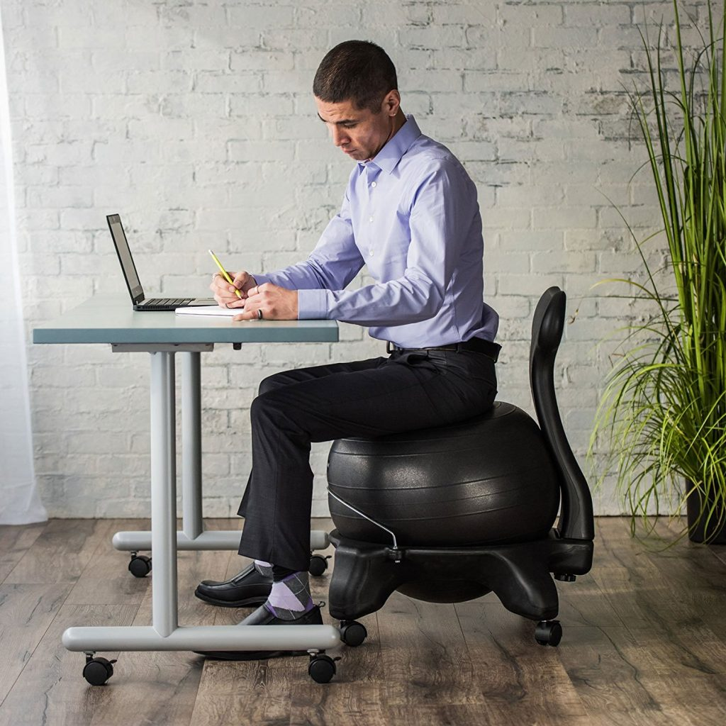 Gaiam Balance Yoga Ball Chair For The Office Reviews