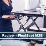 """review of flexispot m2b 35"""" standing desk converter"""