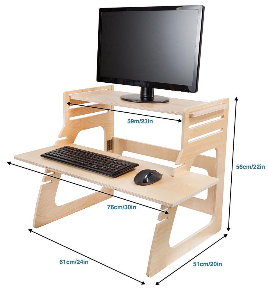 Well Desk Adjustable Standing Desk Riser Review