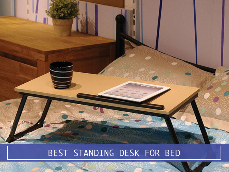 IPad And Coffee Mug On A Standing Desk On Bed Design Inspirations
