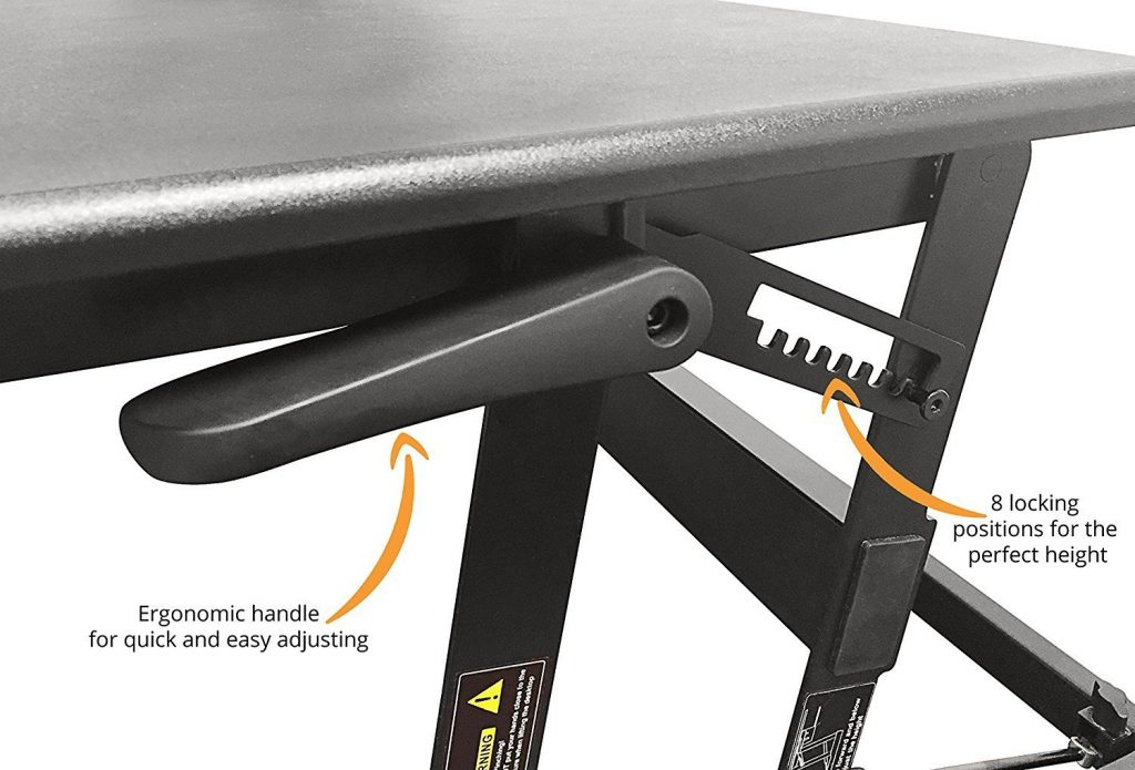 deskdoc ergonomic height adjustment