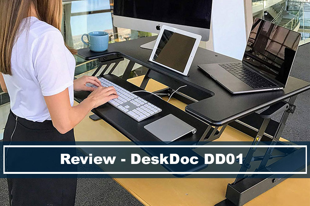 "review of deskdoc 36"" standing desk converter"