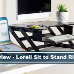 review of lorell sit to stand desk riser