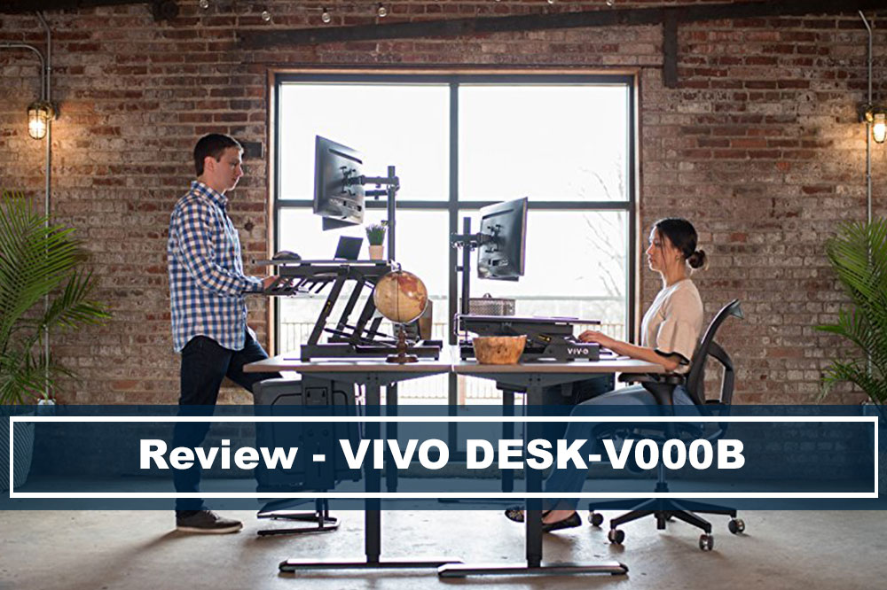 Review VIVO Desk V000B 36""