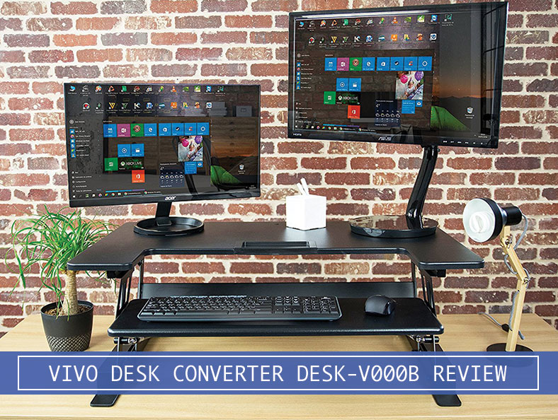 Vivo Table Top Adjustable Stand Up Desk Riser Full Spec Review