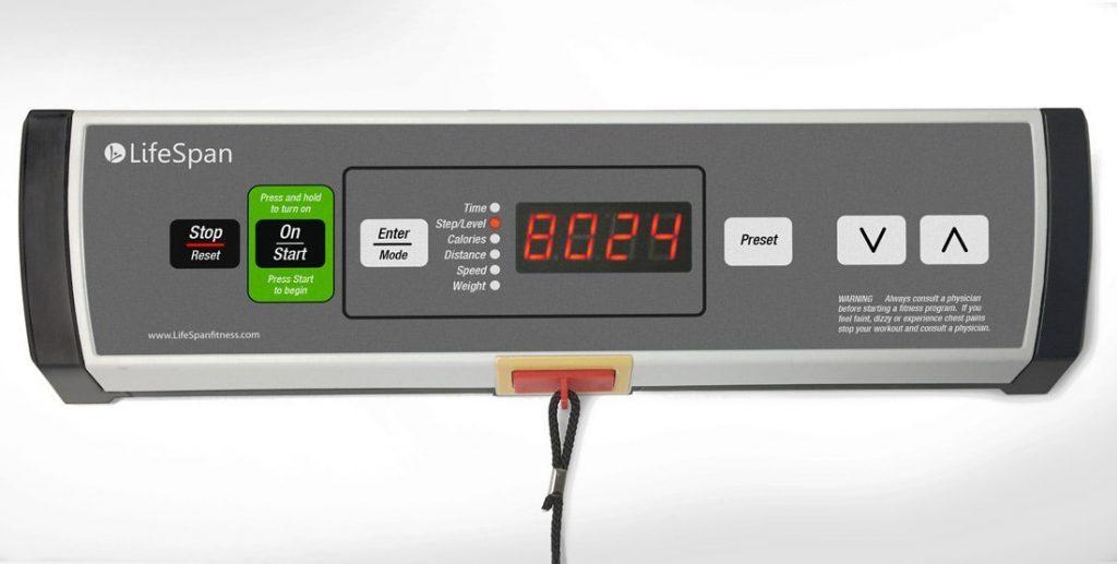 lifespan tr1200-dt3 controls