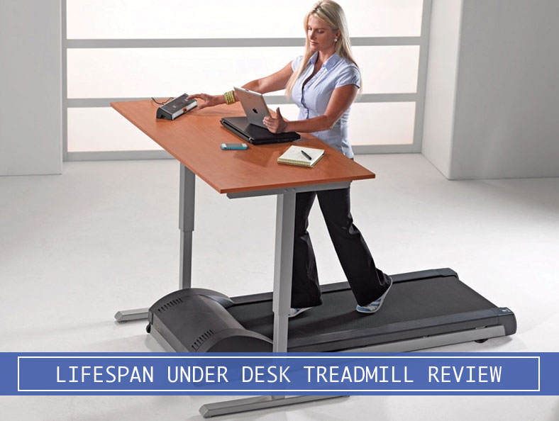 small manual treadmill under desk