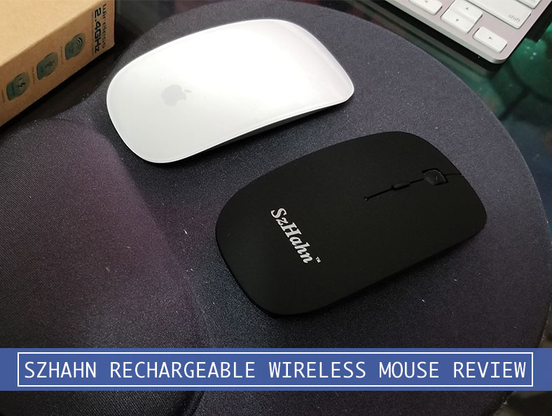 SzHahn 2 4G Silent Rechargeable Wireless Mouse Review