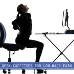 lower back pain at the desk