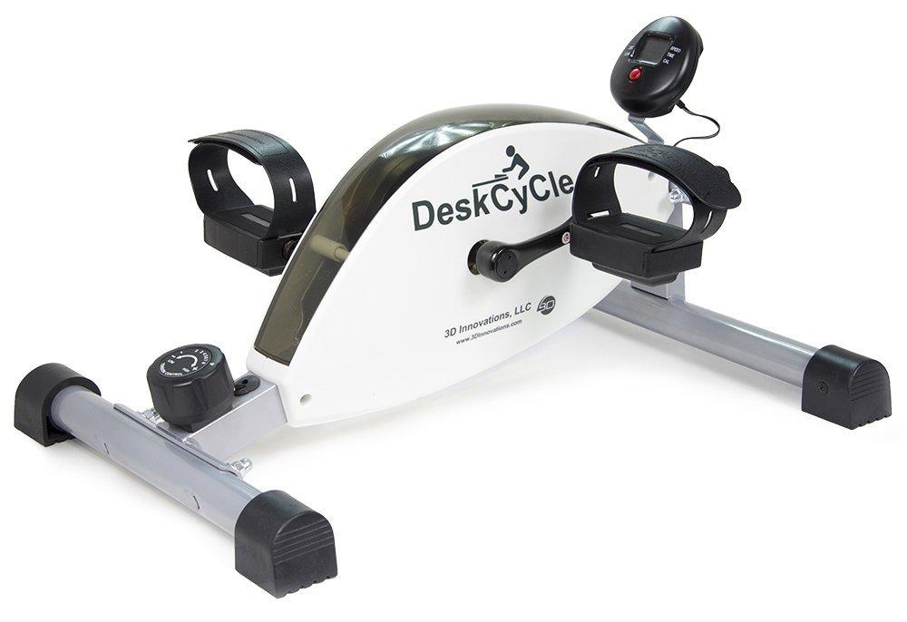 deskcycle under table desk bike exercise burn calories