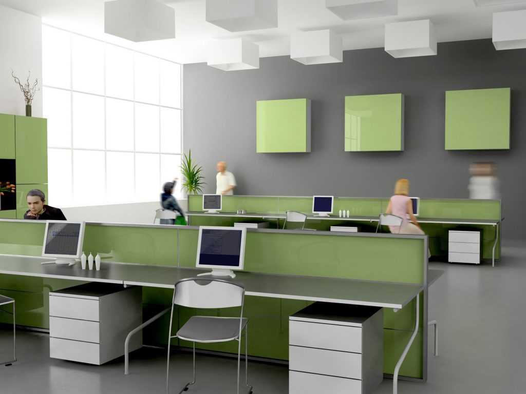 office theme green