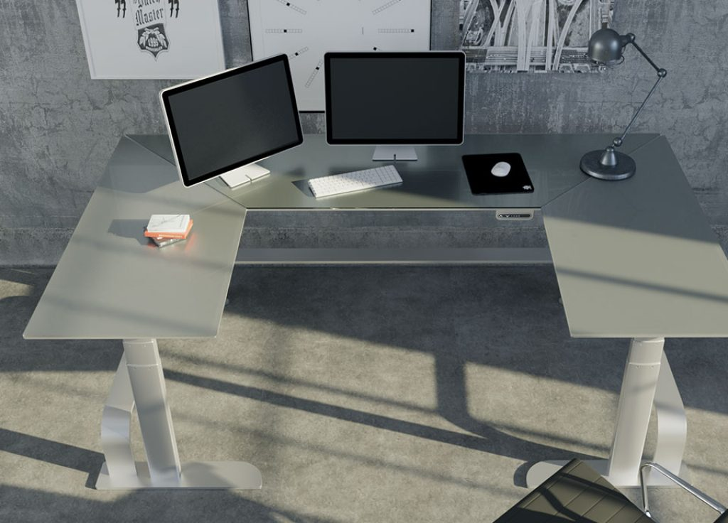 Xdesk Is Minimal And Stylish Adjustable Standing Desk