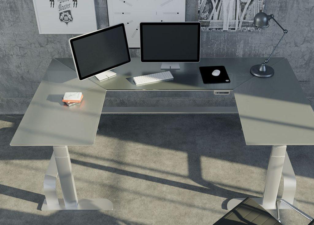 U-shaped xdesk custom design