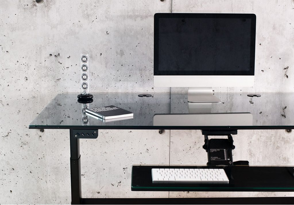 image of an xdesk air standing desk