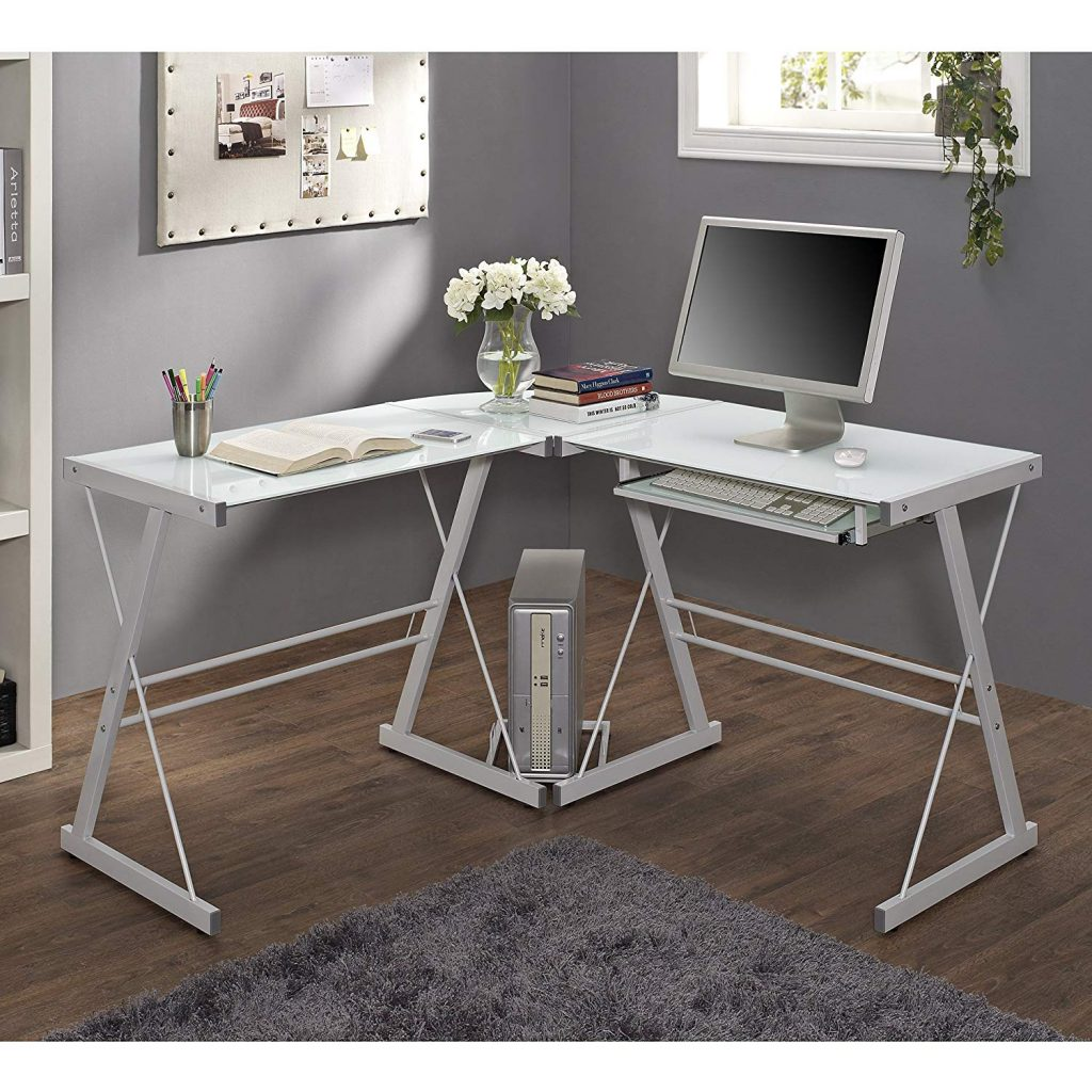 home accent l shaped computer desk