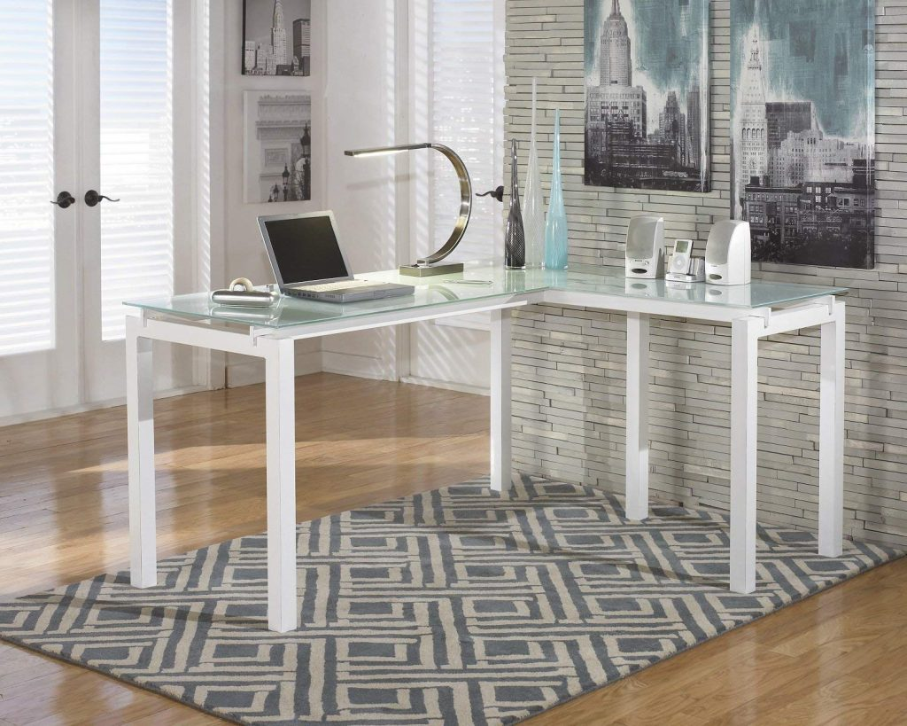 baraga home office l shaped desk
