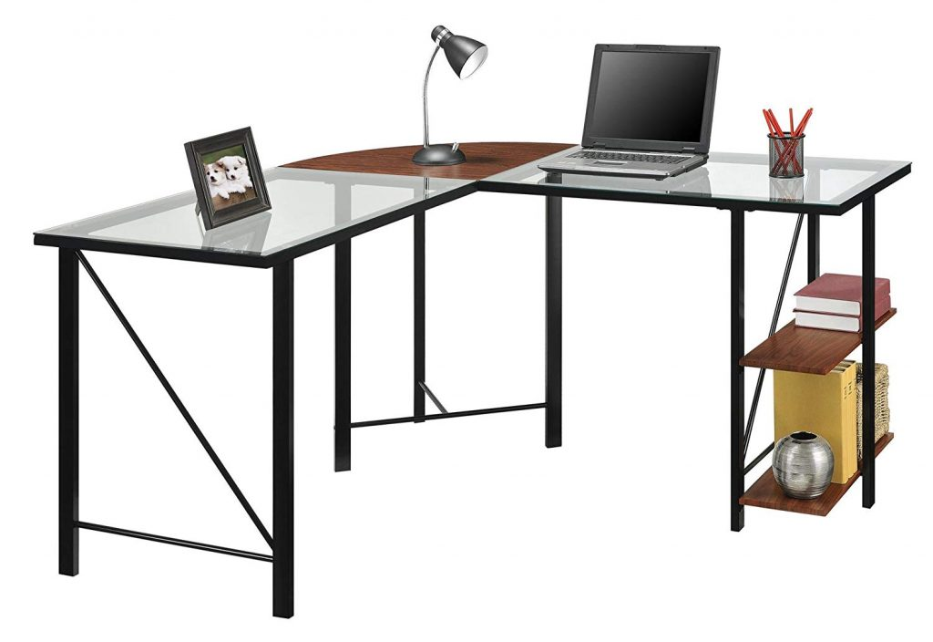 ameriwood cruz l shaped office desk