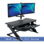 iMovR ZipLift+ Standing Desk Converter Review