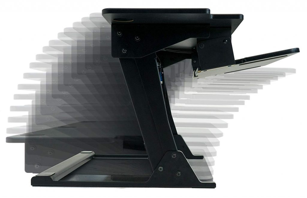 side view of imovr ziplift+ converter