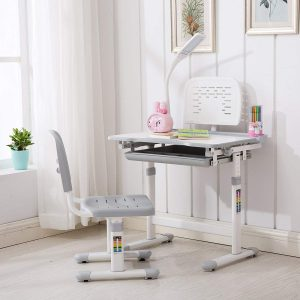 mecor's adjustable kids desk and chair set