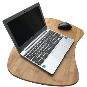 bamboo ergo design laptop tray