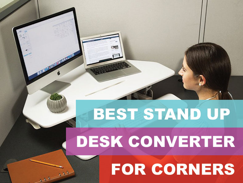 Fabulous Best Adjustable Standing Corner Desks And Cubicle Converters Download Free Architecture Designs Grimeyleaguecom
