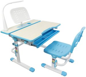 Vivo adjustable childrens desk and chair set, best choice