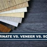 difference laminate vs veneer vs solid furniture