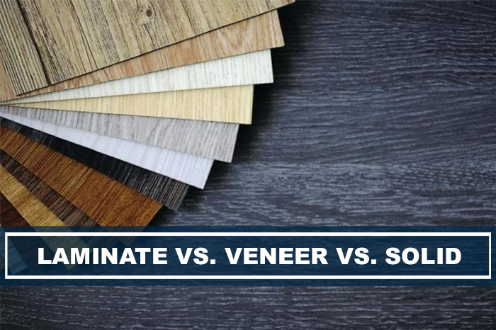 Difference Between Laminate, Veneer and Solid Wood Furniture ...