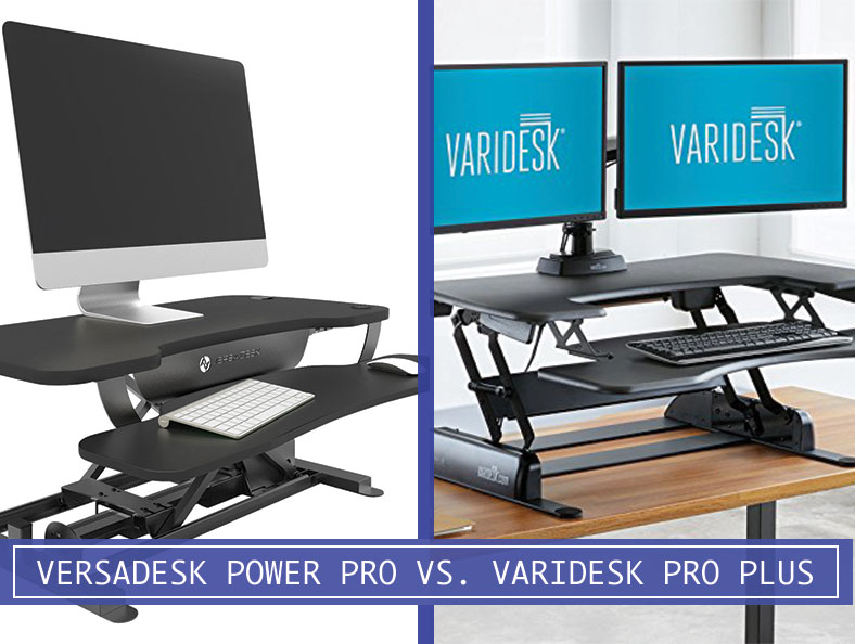 Comparing Versadesk Power Pro 36 Vs Varidesk Pro Plus 36