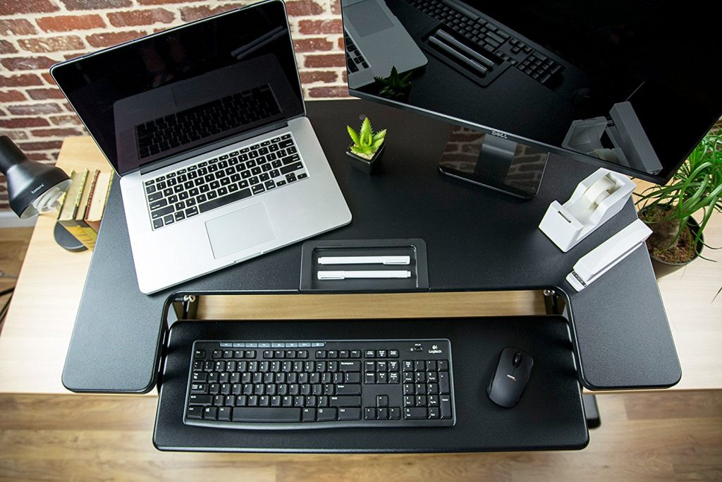 vivo desk v000b 36 top view