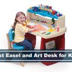desk easel and artist table for kids