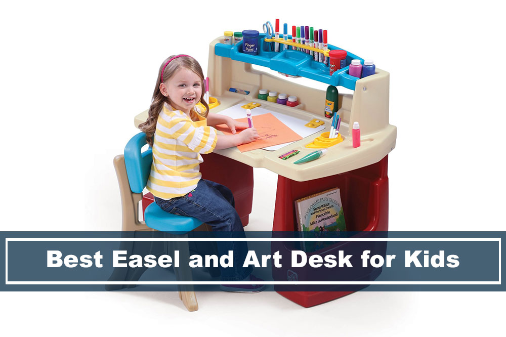 desk easel and artist table for kids