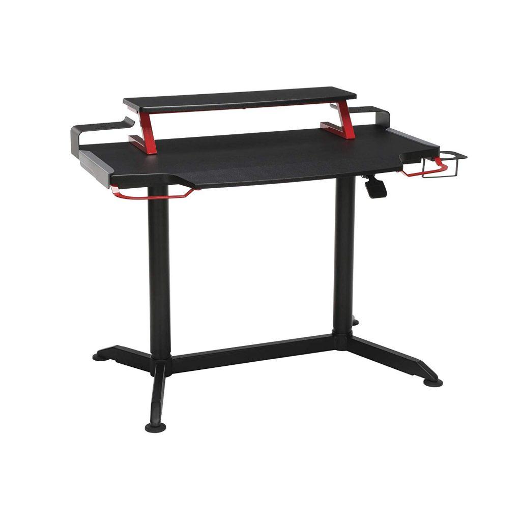 Respawn adjustable sit to stand ergonomic gaming desk