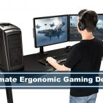 ergonomic pc gaming desk