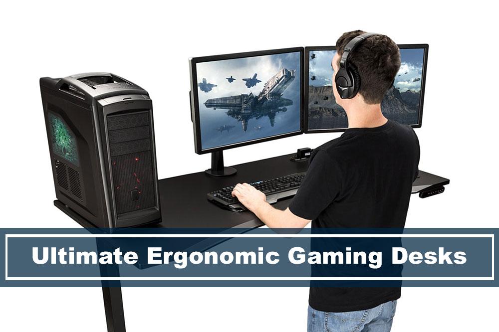 ergonomic pc gaming desk