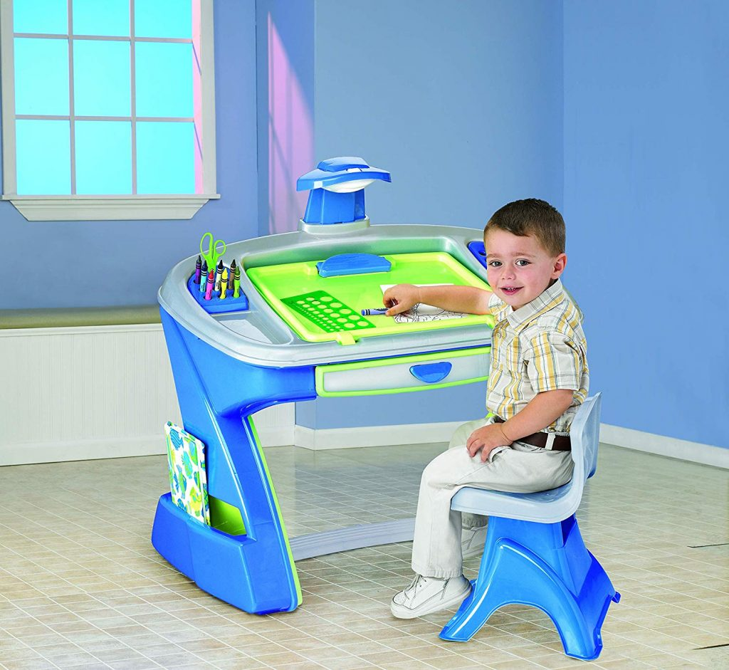 American Classic Kid Art Easel Desk Table