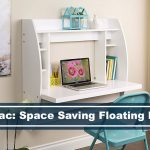Prepac space saving floating desk
