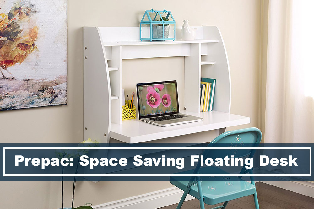 Prepac Space Saving Floating Desk