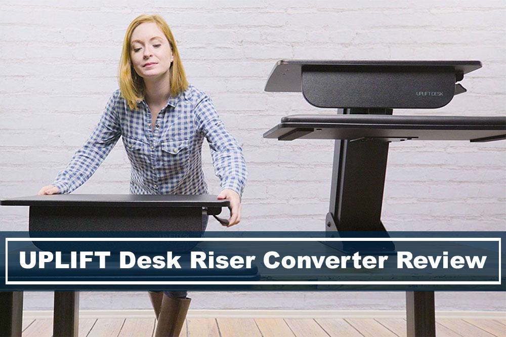 uplift desk riser standing desk converter comparison