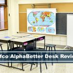 Safco AlphaBetter stand up kids desk in classroom group setting