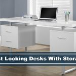 best looking desks with drawer space and storage space