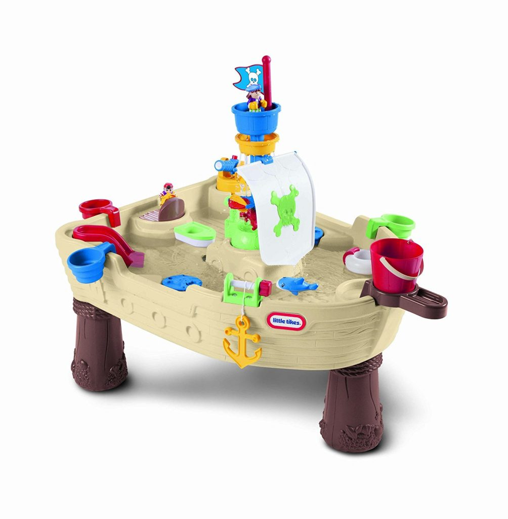 outdoor activity water center little tikes pirate ship