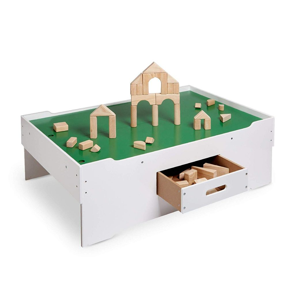 wooden play table for kids