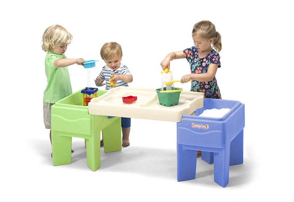 simplay3 indoor and outdoor activity table with storage