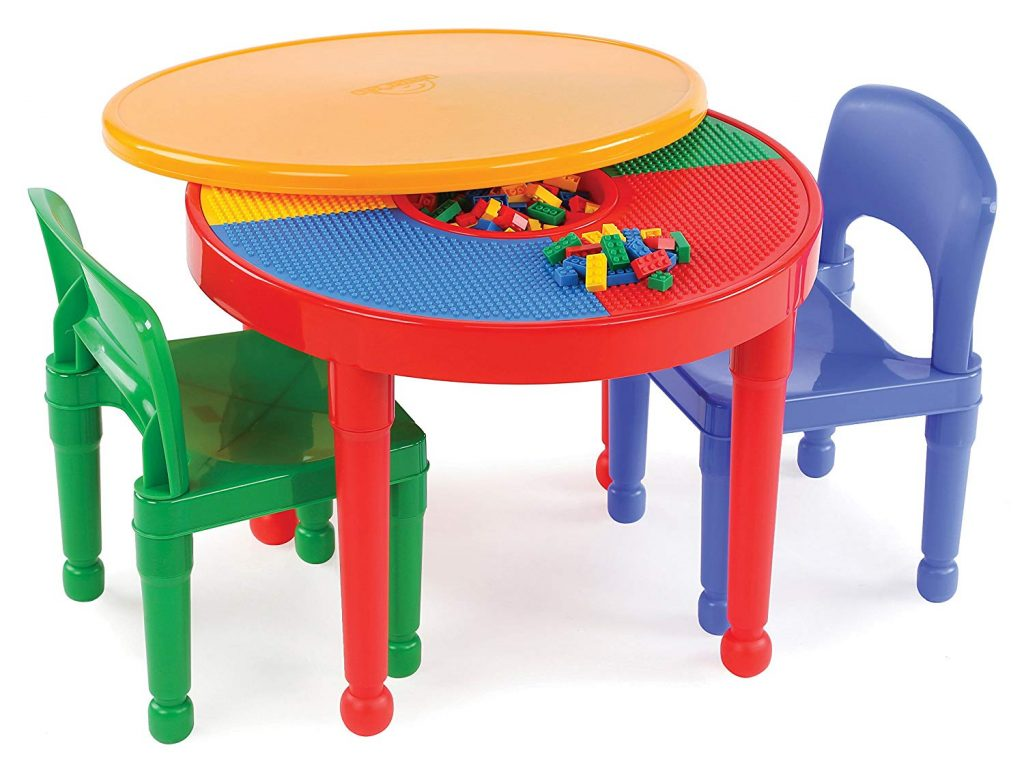 tot tutors children activity table with chair set