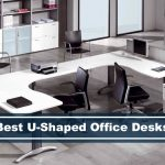 best and coolest u-shaped office desks for modern and contemporary rooms