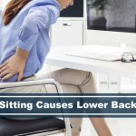 lower back pain from sitting long and other causes