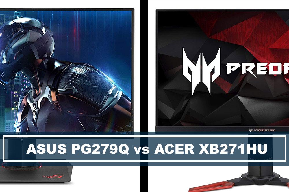 ASUS PG279Q vs Acer XB271HU